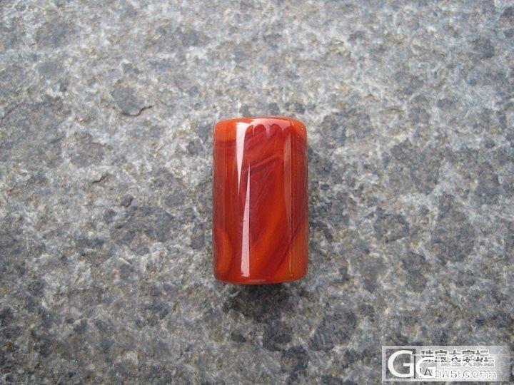精美南红散珠---柿子红玫瑰红冰飘---美不胜收_传统玉石