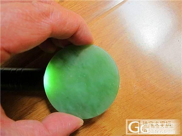 【碧水有玉】俄碧 圆牌 无事牌750元_传统玉石