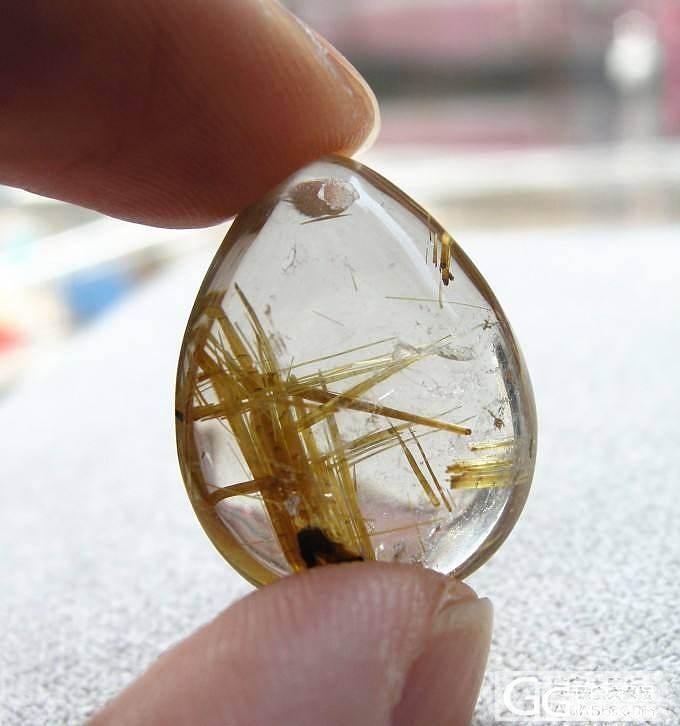金发晶、钛晶吊坠大集合 超多图请慎入哦_宝石