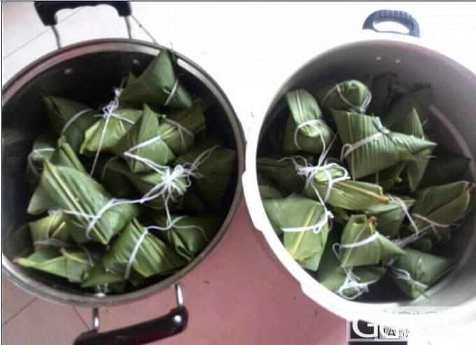 美厨娘无题——杂豆鲜肉板栗粽_美食