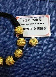 259一克的全新转运珠,1100元出潮宏基的哆啦A梦生肖虎,可赠送多个金叶珠宝的吊坠..盒_金
