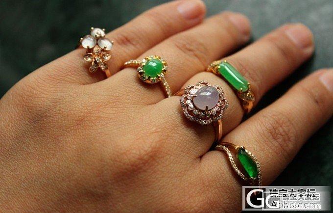 谁说银镶的戒指不美丽?_翡翠