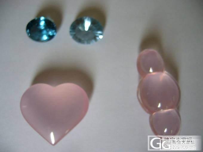 6月10日更新啦,镶嵌出来啦~~有没有对各种戒面感兴趣的姐妹?_莫桑石宝石