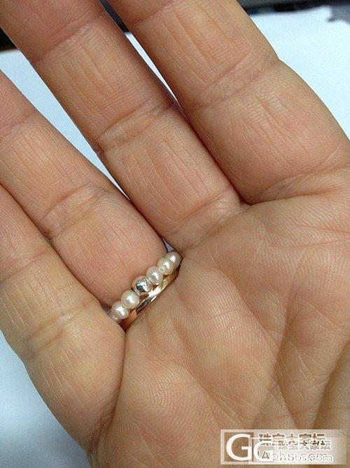 青金+3mm小珍珠,也蛮好看的。。。_珠宝