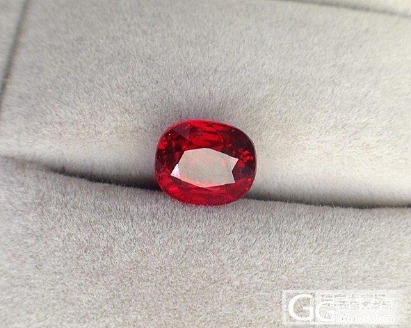 玻璃体2.54ct莫桑无烧鸽血红红宝石,请欣赏!_刻面宝石红宝石