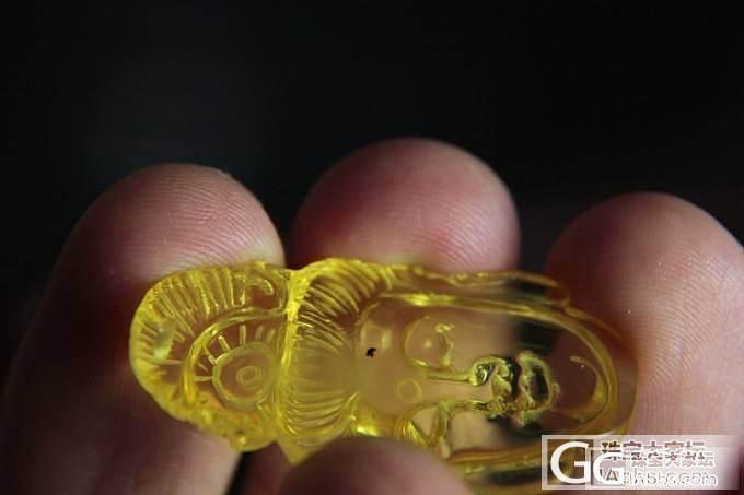 琥珀蜜蜡小精品挂件(福瓜,葫芦,花生,连年有余),都带权威证书哦。_有机宝石
