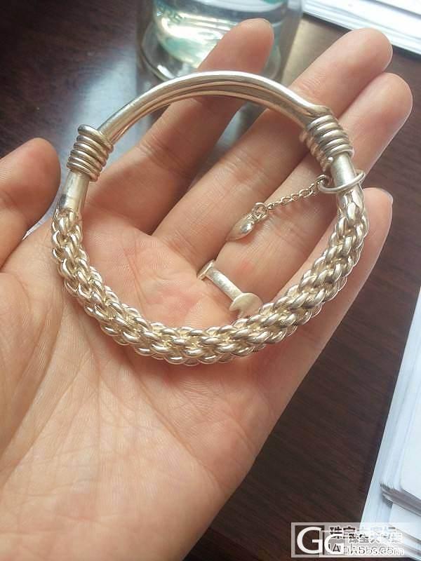 重新发,银镶墨西哥蓝珀戒指吊坠,转啦..._银