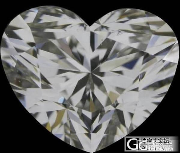 ?不能发贴吗  爱心克拉裸钻一个  急_钻石