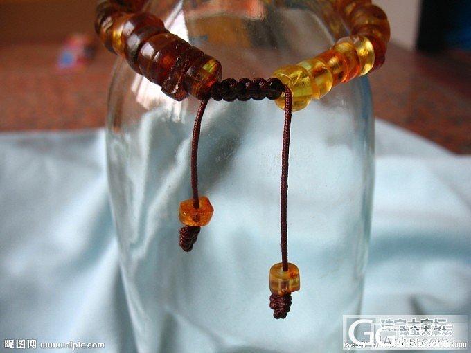 想出一串刚磨好的琥珀车轮珠手串,价格面谈,喜欢的请联系_有机宝石