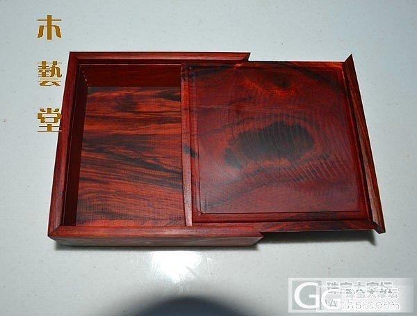 红酸枝抽拉盒180元_珠宝