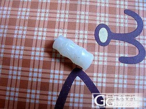 青白玉兰花,竹节,手链_传统玉石