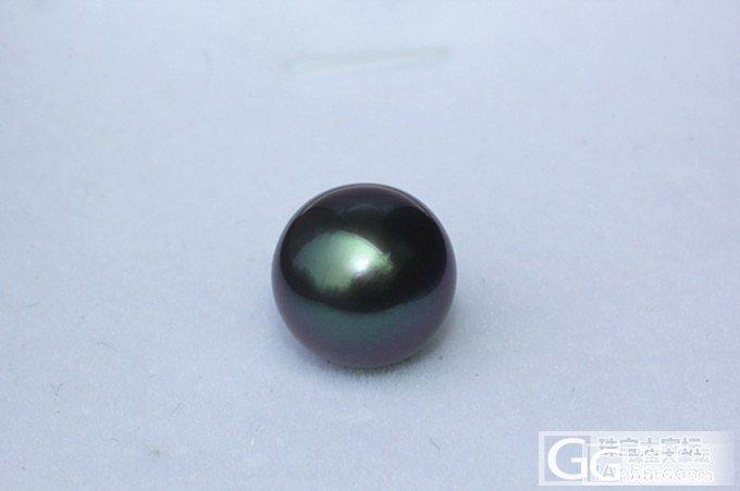 【伊人美珍珠】孔雀绿裸珠!孔雀绿裸珠!_有机宝石