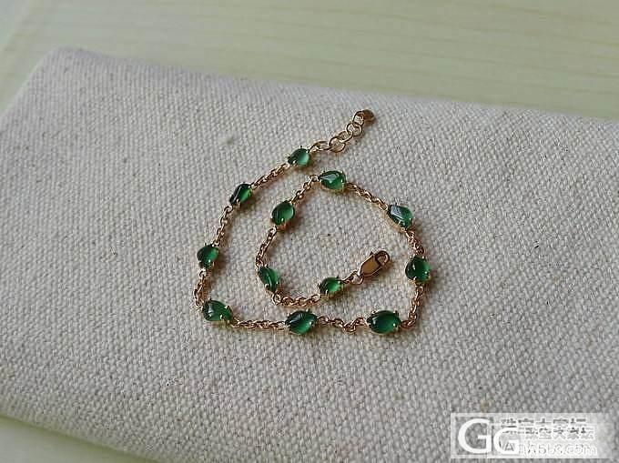 【十月】绿色随形手链 售价:4600