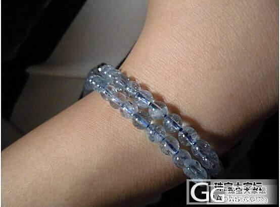 想DIY一条海蓝宝和珍珠的多层的手链,第一次发,东西不贵,求涨知识_海蓝宝