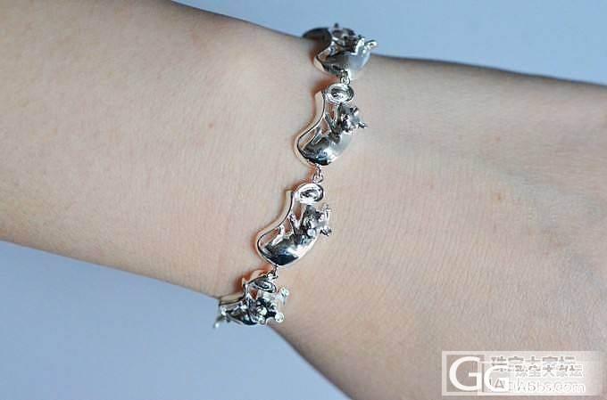 这个手链,怎么样,看出来是什么动物了不_珠宝