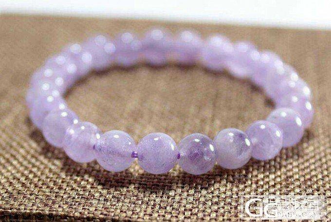 DIY紫水晶手链~看看怎么样?梦幻手串_水晶