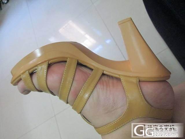 奥康39码 土黄色小羊皮罗马凉鞋_珠宝