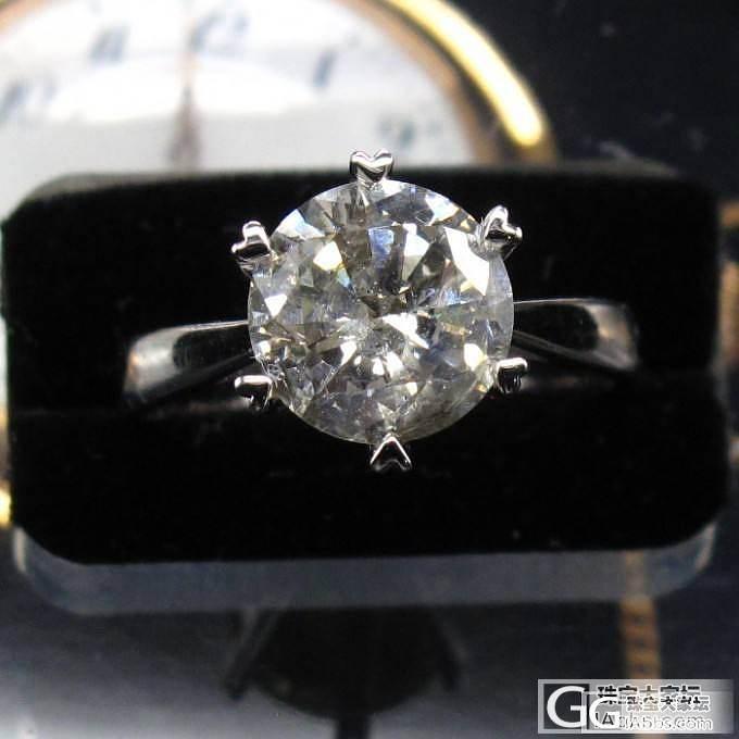 【大肥猫珠宝】2.39克拉钻戒 35..._钻石