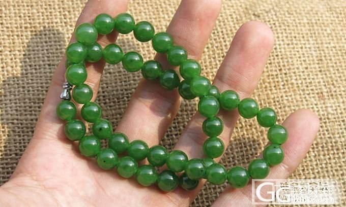 俄碧阳绿项链,108佛珠_传统玉石
