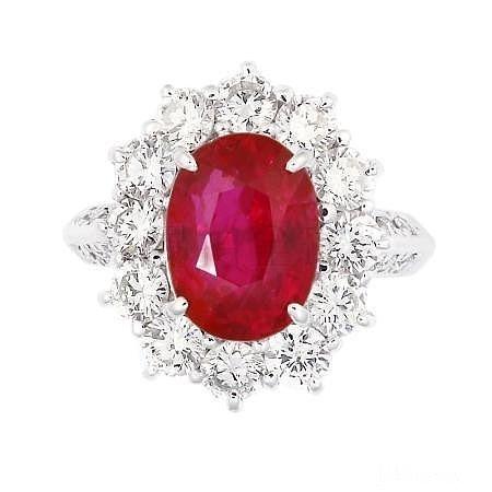 这个莫桑比克的红宝石算是黑皮吗?_戒指红宝石