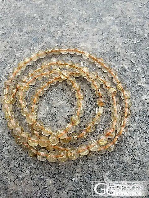 金发手链,三圈 便宜了_宝石