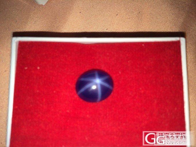 求各位鉴定下这是星光红 蓝宝吗_红宝石