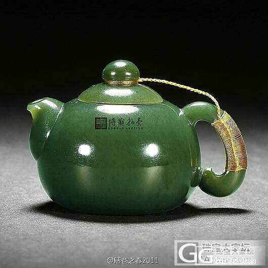 精美碧玉器皿共赏_和田玉