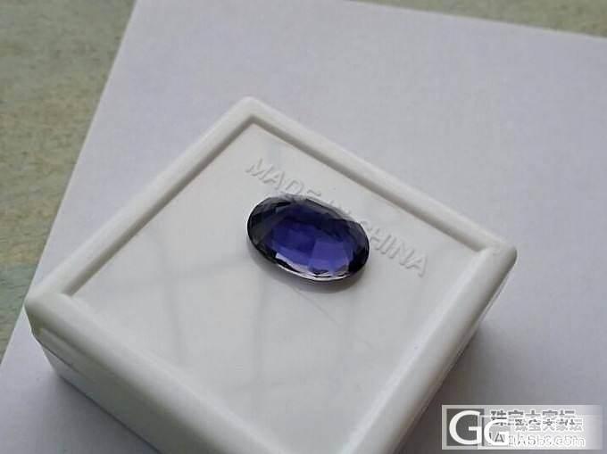 5.49ct的堇青石和无加热的坦桑石_少见宝石刻面宝石