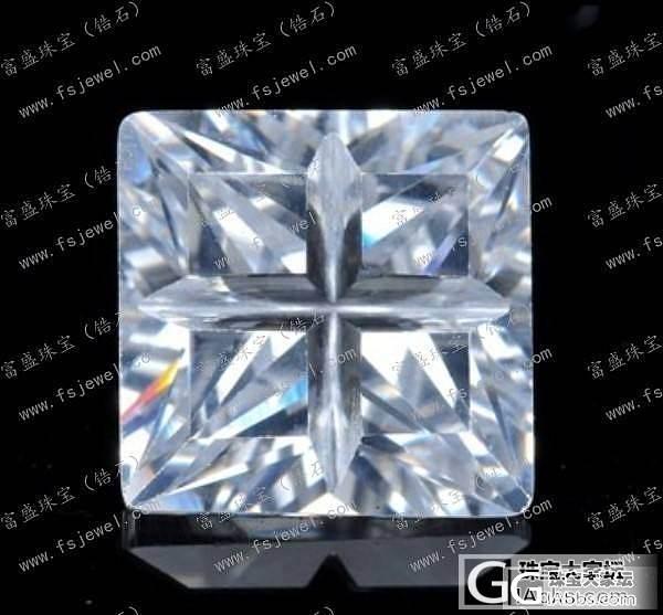 富盛锆石AAA级黑色锆石八边形 锆石厂家锆石价格最优惠_珠宝