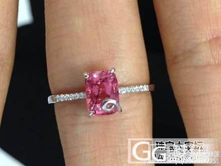 925银尖晶戒指,便宜甩~_宝石
