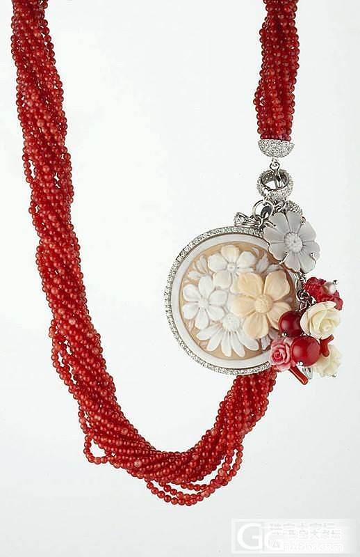 珊瑚手链项链~求围观~_珊瑚