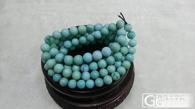 欣赏108颗高瓷原矿圆珠项链_珠宝