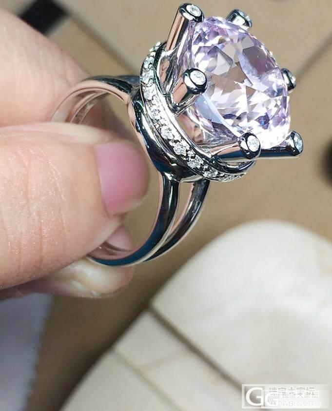 MGEMS独家设计 紫粉色锂辉石 钻..._博物馆