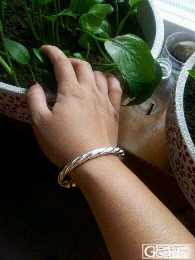 泥鳅背的今世_手镯银