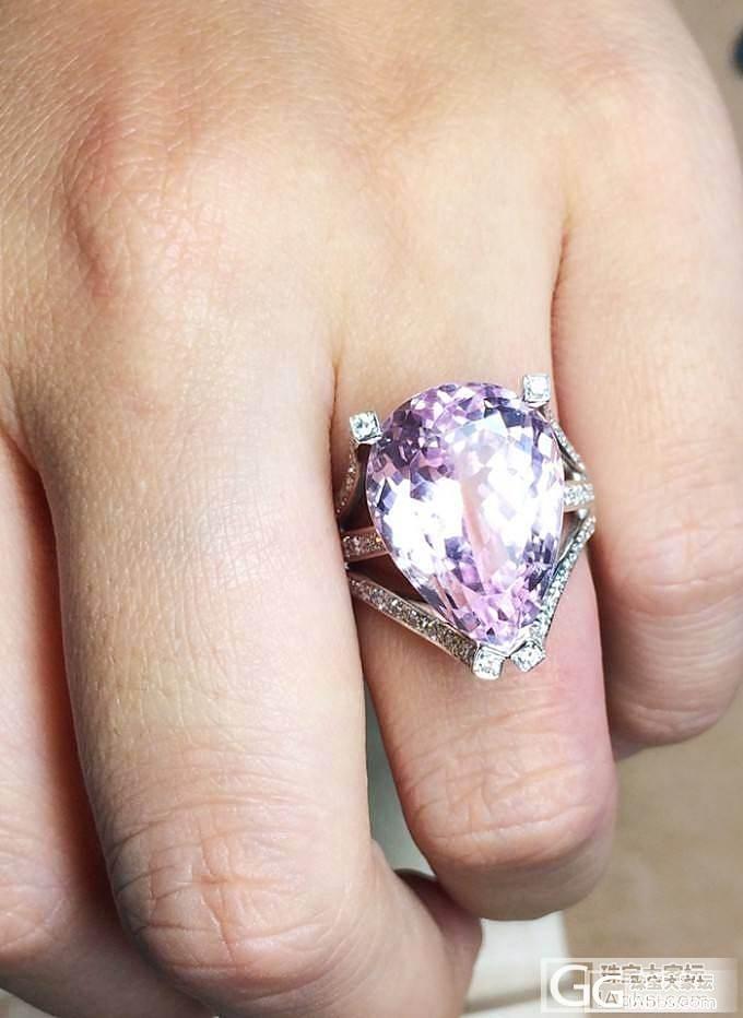 MGEMS独家设计 紫粉色锂辉石钻石..._博物馆