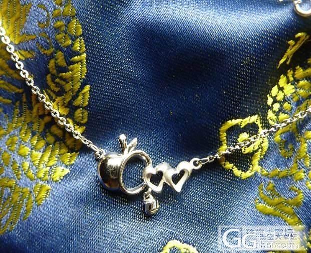 铂金套链还图_珠宝