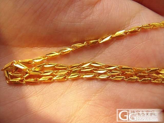 千叶255+20一克的金项链_项链金