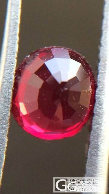 0.99小红宝石一颗,鸽血红哦:-)_红宝石