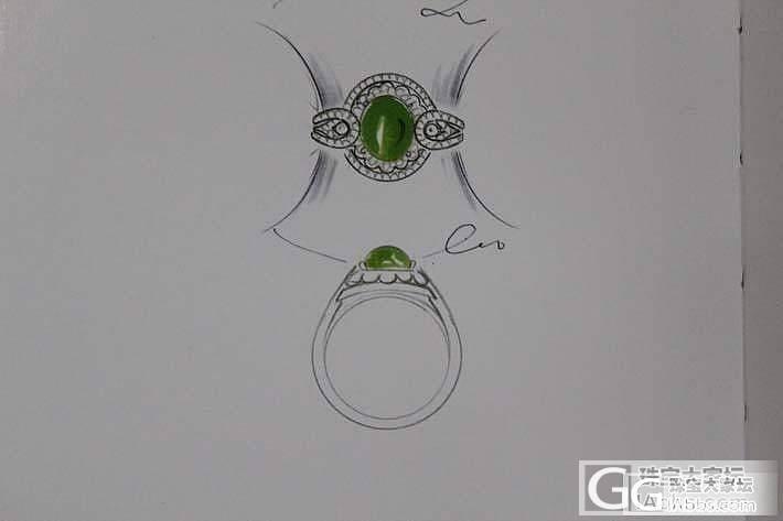 简单的设计款图_珠宝