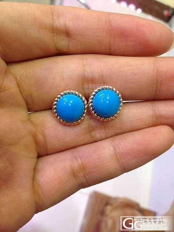 各种美国蓝松饰品~~大家看过来_有机宝石