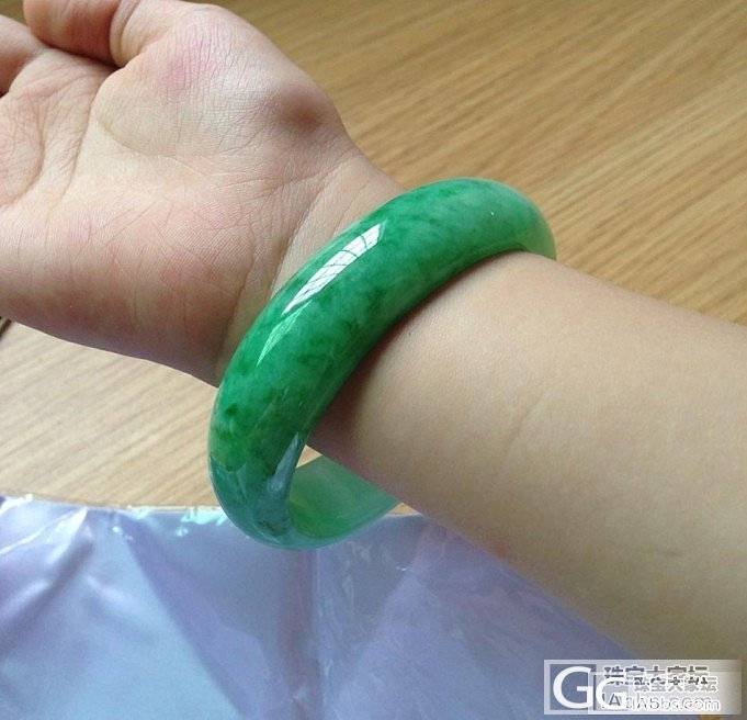 【坛友底价:6.6万】满 阳 翠 绿..._翡翠