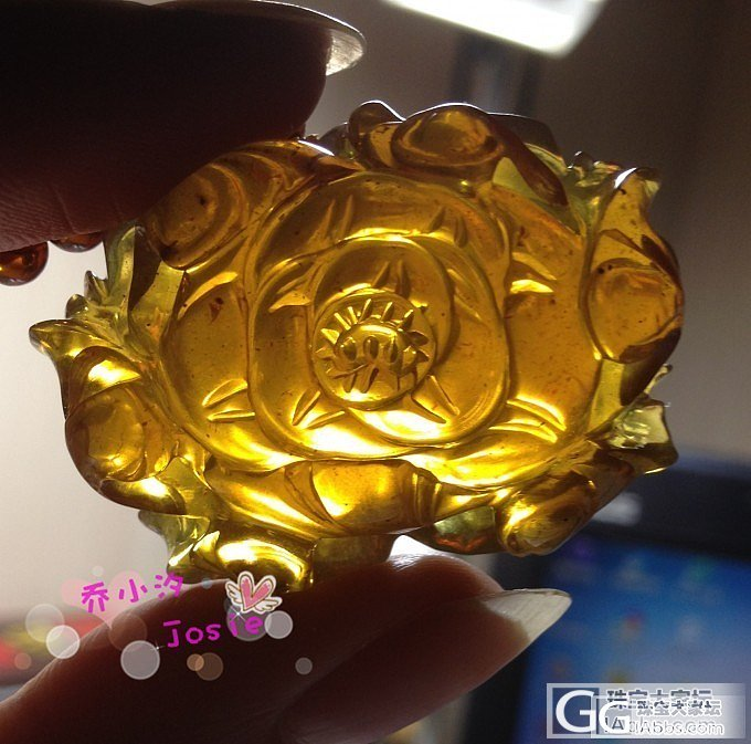 攒牡丹上瘾,又入了个金棕的~_珠宝