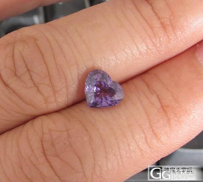 比较纯的紫色尖晶_尖晶石刻面宝石