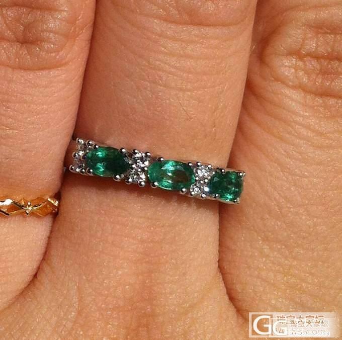上次团的祖母绿红蓝宝戒指出炉了,另外..._珠宝