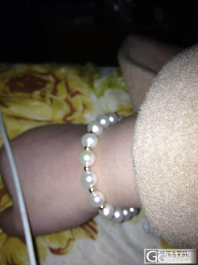 哪款手链好看啊???_珍珠