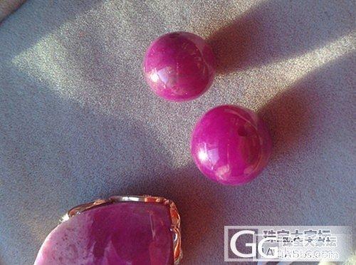 出舒俱来 紫红 桃红 樱花 小舒  单珠  12mm  10.9mm_宝石