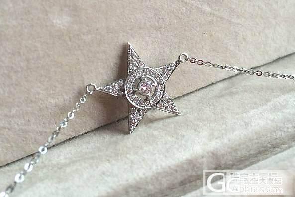 迟到的还图,加利布埃尔之星,一闪一闪亮晶晶~~_鑫艺首饰镶嵌