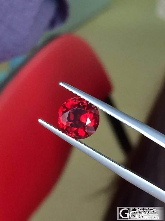 新入 尖晶石 2.14克拉 鸽血红色..._珠宝