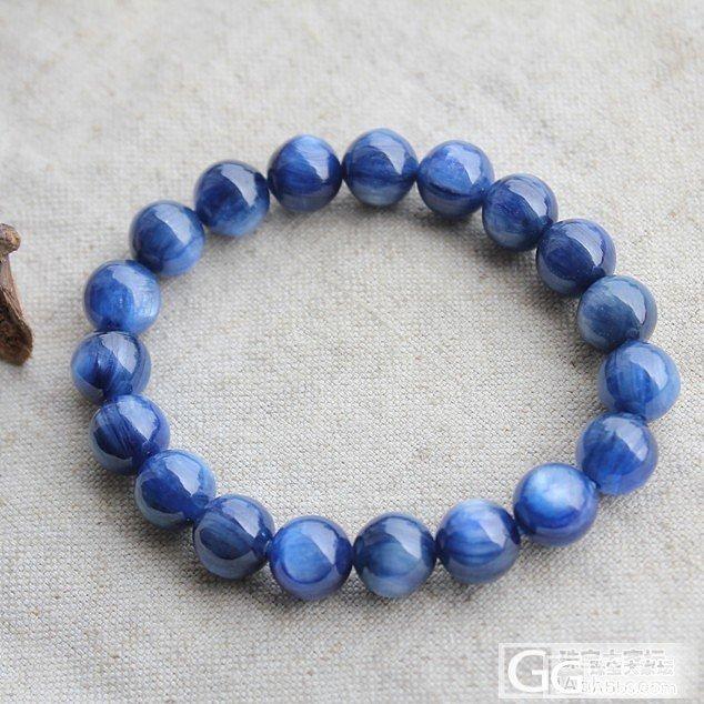 6.5特价 南红 马粉 蓝晶手链。。_水晶福利社