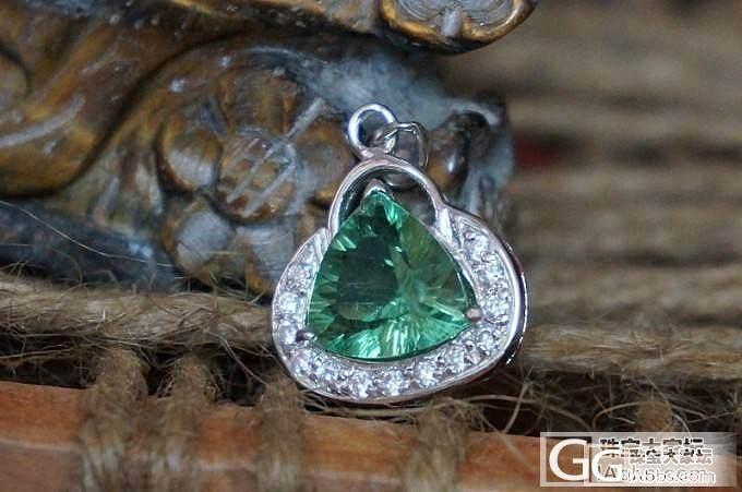 最近银子镶的几个小石头。_宝石刻面宝石